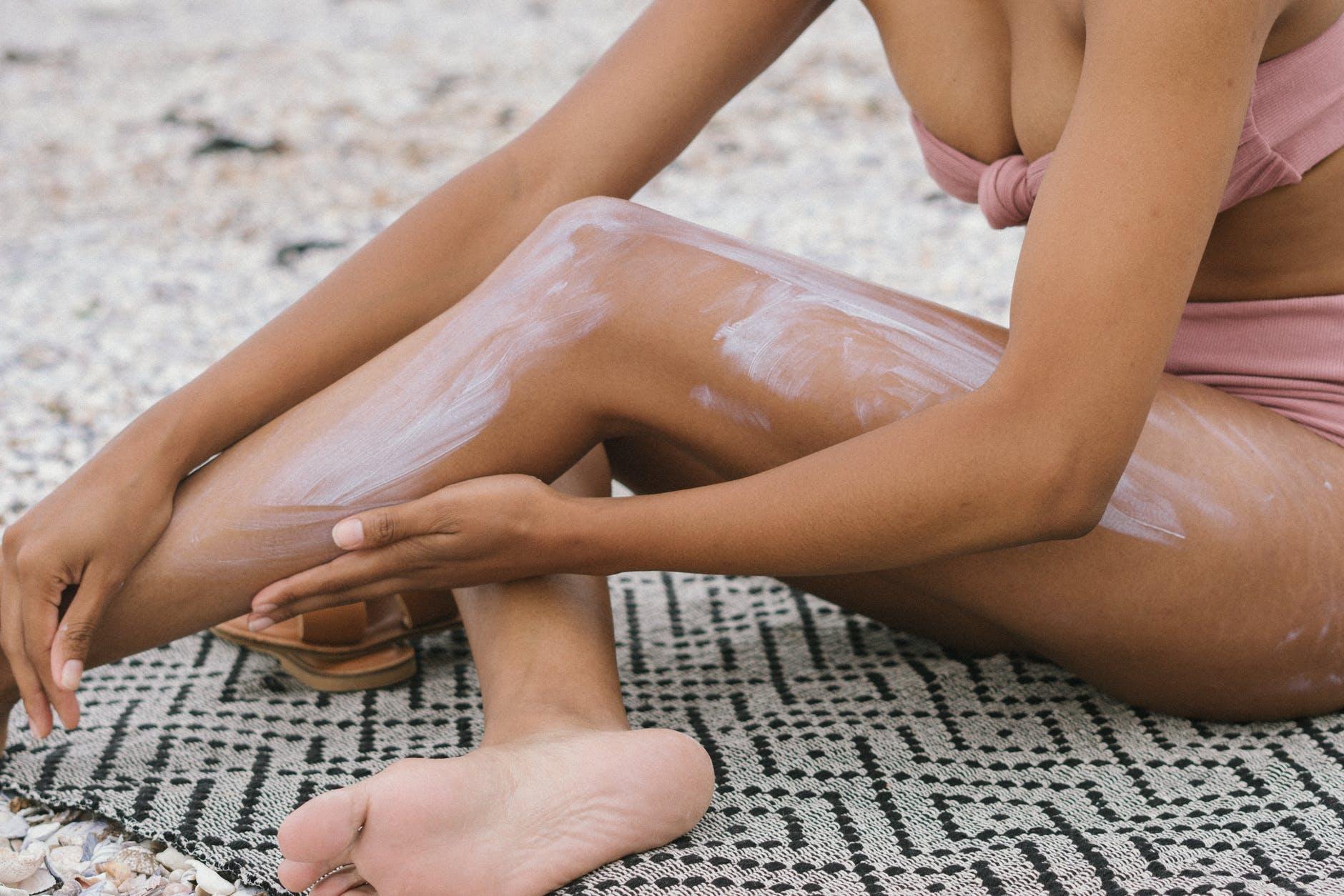žena, nohy